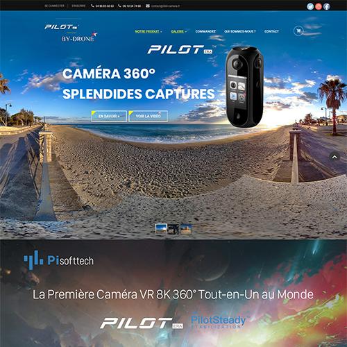 Caméra 360° Pilot ERA