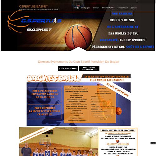 CSPertuis Basket